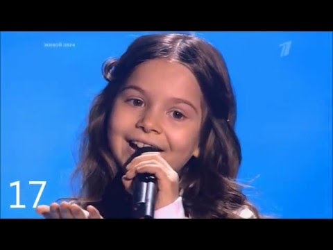 The Best of The Voice Kids (Russia) (top 17) - Топ 17 лучших выступлений Голос.Дети.