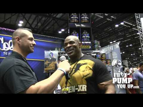 Tim Muriello Interviews With 8 Time Mr. Olympia Ronnie Coleman video