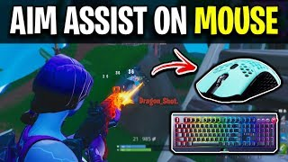 How To Get AIM ASSIST on Mouse and KEYBOARD! (NOT CLICKBAIT)