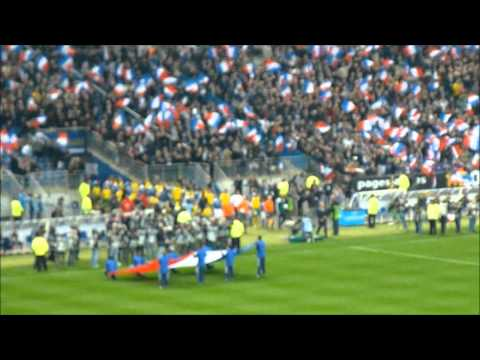 France - Lithuania, outside the stadium and inside before kick off | no music
