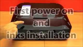 02.Pixma MG7700 series (part2) - Wifi setup from power on