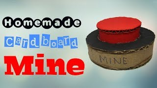 How to Make Airsoft Landmine from Cardboard | DIY !
