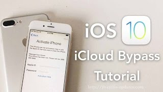 Bypass iOS 8 iCloud Activation Lock Screen on 9.X.X