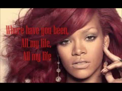 Where Have You Been - Rihanna (karaoke instrumental) video