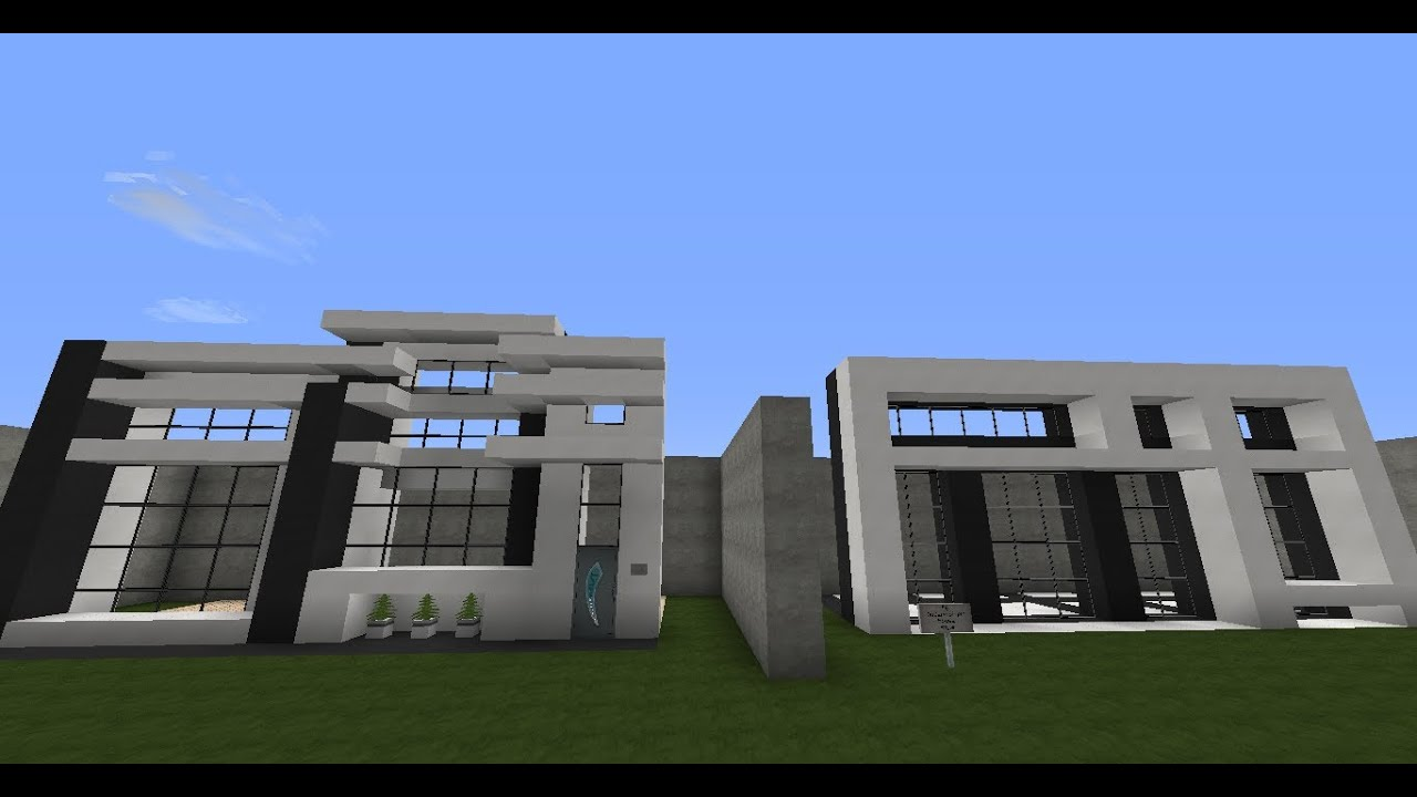 How to build a house in minecraft 5 wall and window for Window design minecraft