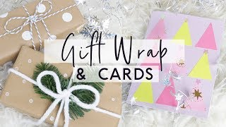 DIY Gift Wrap Hacks and DIY Christmas Cards 🎁 Budget Friendly Gift Wrapping Ideas