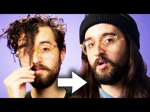 Guys Try Long Hair For A Week thumbnail