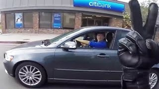 "Stupid, Crazy & Angry People Vs Mr VRod | Road Rage ""F#CKIN GO BACK!"""