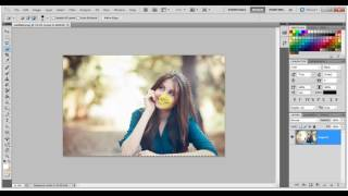 Adobe Photoshop Tutorial for beginners in hindi   change background photoshop cs HD