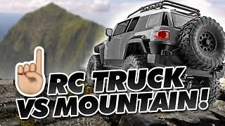 Driving an RC Truck up a Mountain ⛰