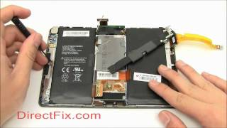BlackBerry PlayBook Teardown & Repair Directions By DirectFix.com