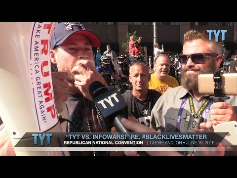 TYT Battles White Supremacy Megaphone At RNC
