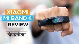 Xiaomi Mi band 4 Review (in Nepali)