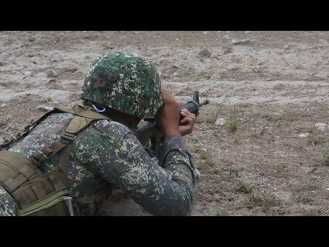 Balikatan 2016 - Philippines and US Marines Conduct Ground Assault