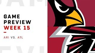 Arizona Cardinals vs. Atlanta Falcons | Week 15 Game Preview | Move the Sticks