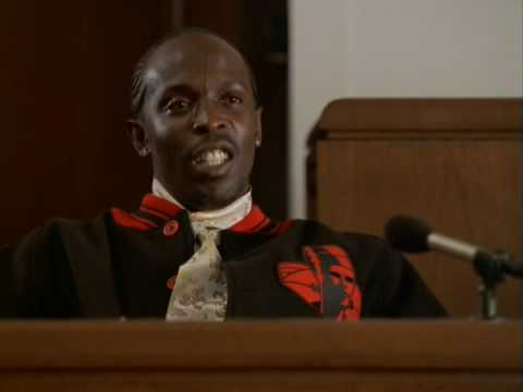 The Wire - Omar Testifies Against Bird video