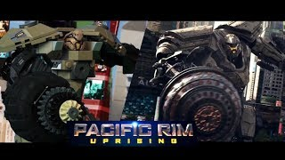 PACIFIC RIM : Uprising in LEGO - Side by Side version. Trailer stop-motion