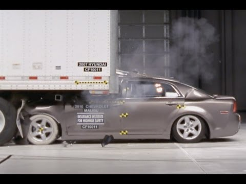 New IIHS Crash Tests: Most Underride Guards FAIL To Stop DEADLY Crashes