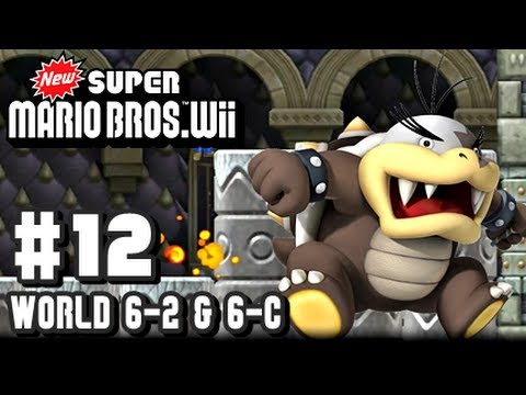 New Super Mario Bros Wii - Part 12 - 6-2 & 6-Castle