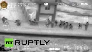 Combat Cam: Stranded Iraqi soldiers rescued from ISIS in Ramadi