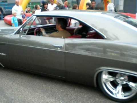 chevy impala ss 1965 cruizin' by @ the hague nl. youtube