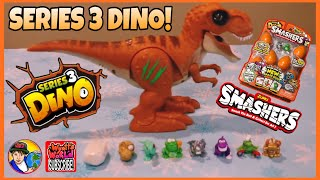 ZURU SMASHERS SERIES 3 DINO - UNBOXING AND PREVIEW!