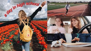 a REAL day in my life in high school *senior year*