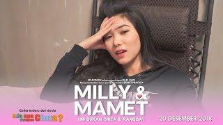 Download Lagu MILLY & MAMET (Ini Bukan Cinta & Rangga) Day 11 Gratis STAFABAND