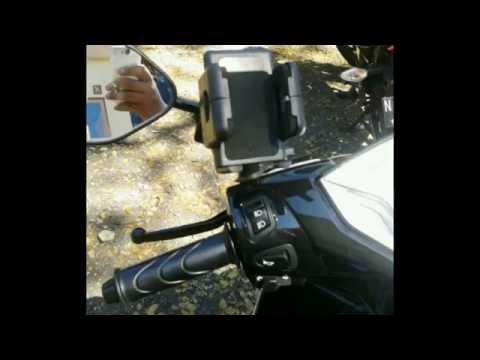 Jual Holder HP di Motor / Sepeda. WA 08386003001