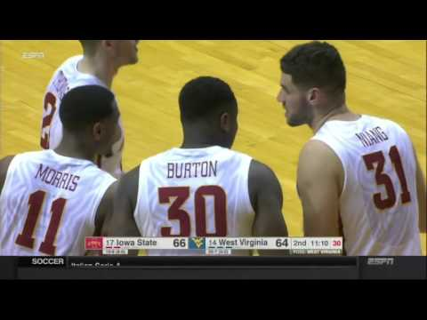 Iowa State men's basketball highlights vs. West Virginia