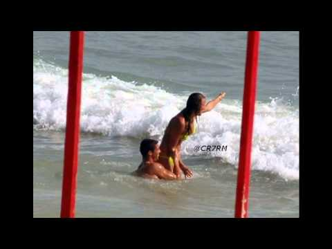 Cristiano Ronaldo DOING Irina Shayk ON BEACH 1:05MIN
