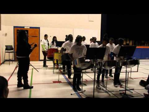 Morningstar Steel Band Performing Jamaica Farewell
