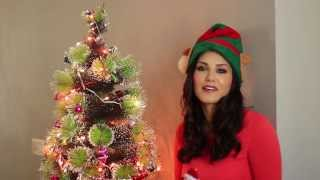 Christmas Wishes From Sunny Leone