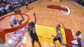 2013 NBA Finals - San Antonio vs Miami - Game 6 Best Plays streaming