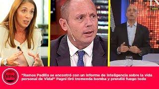 """""""Ramos Padilla se encontró con un informe de inteligencia sobre Vidal"""" Pagni prendió fuego todo"""