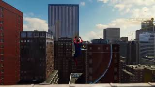 First time playing spiderman