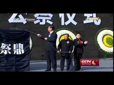 Se celebra el Día Conmemorativo Nacional por las Víctimas de la Masacre de Nanjing