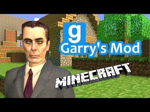 Garry's Mod - Minecraft и Другие Дополнения (Аддоны)