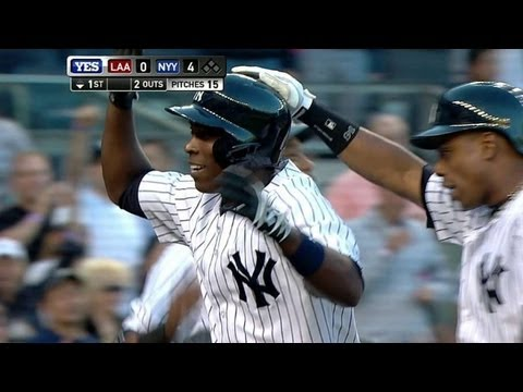 Soriano connects for grand slam in the first