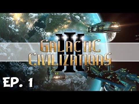 Galactic Civilizations 3 - Ep. 1 - The Space Squirrels! - Let's Play - Release