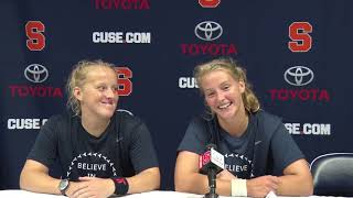 Emma Likly & Roos Weers Postgame Press Conference | Pacific
