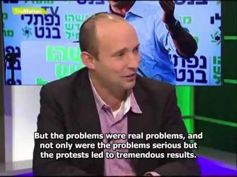 Naftali Bennett reveals his economic agenda