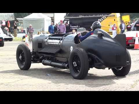 "The Amazing Packard Bentley Special "" Mavis "" Car. 42ltr 1500hp V12."