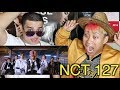NCT 127 Cherry Bomb MV REACTION With SALVMAKNAE