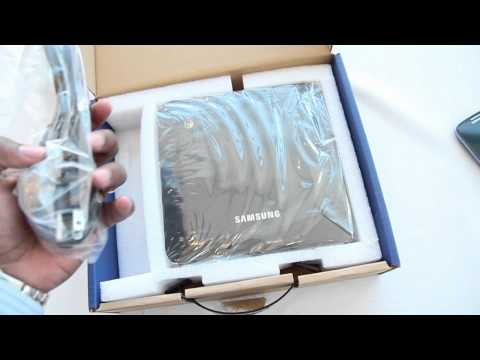 Samsung Chromebox Unboxing Hands-on Video