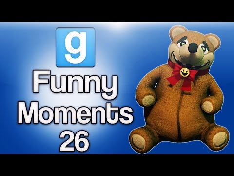 Gmod Ep. 26 Prop Hunt (Teddy Bear! Naughty Prop, Best spot ever!!!)
