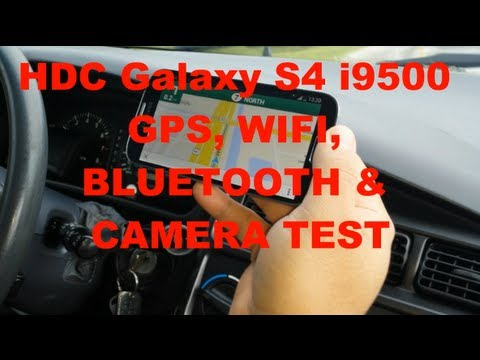 HDC Galaxy S4 i9500 MTK6589 - GPS. BLUETOOTH. WIFI. AND CAMERA TEST!