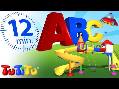 TuTiTu Preschool | ABC Songs | Learn the Alphabet in TuTiTu's Playground