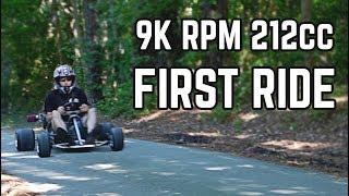 FIRST RIDE   20HP Big Valve Predator 212cc
