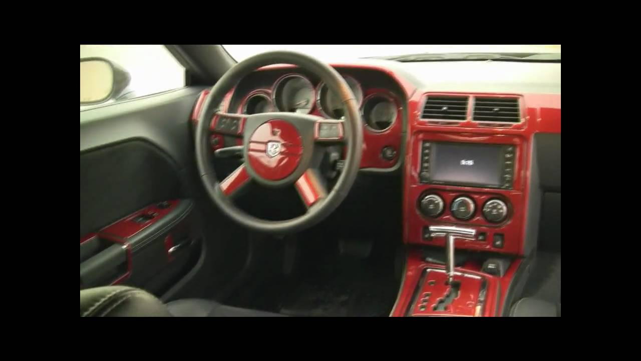 Challenger Srt8 Carbon Fiber Interior Youtube